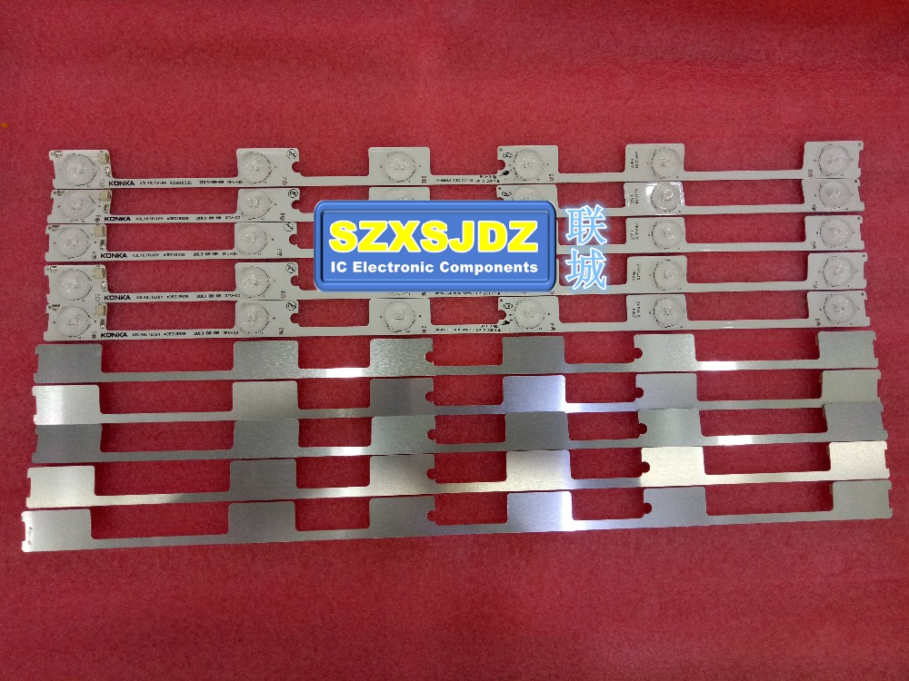 New LED backlight bar strip for KONKA KDL48JT618A KDL48SS618U 35018539 6LED 6V 442mmnew