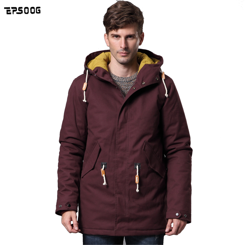2016 new men s winter coat Fashion Jackets thick warm quilted Padded Cotton jacket