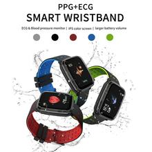 The new K02 smart sports bracelet watch ECG + PCG electrocardiogram AI detection heart rate blood pressure meter step waterproof smart meter networks intrusion detection system by design