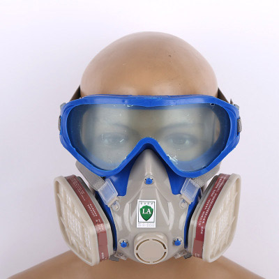 Respirator Gas Mask Pesticide Pintura Full Face Carbon Filter Mask Paint Spray Gas Box Protect Mask цена 2017