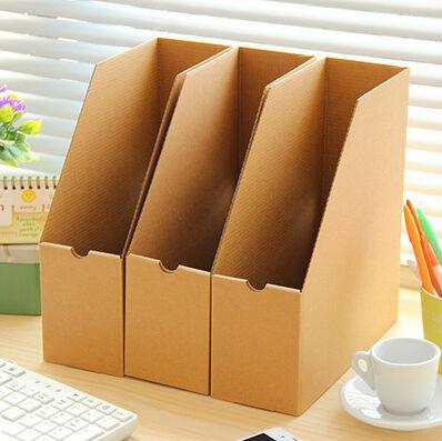 office file box. 5pcs/lot Desk Office Organizer Diy Storage Revisteiro Tray Documents File Box Desktop