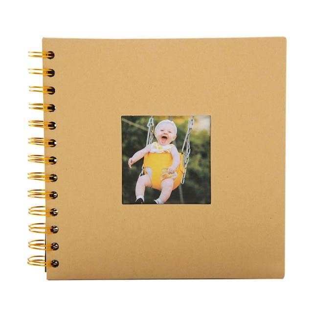 2019 אלבום תמונות יום נישואים מתנה אלבומים תמונות Creative 40 דפים Photoalbums Scrapbook אלבומים קרפט נייר צילום גלרית