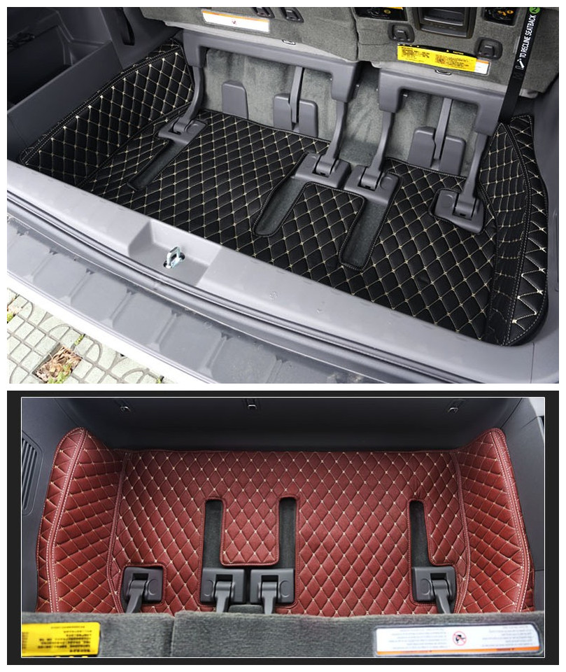 For Toyota Sienna 2011 2018 Full Rear Trunk Tray Liner