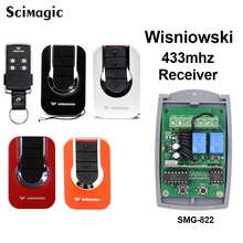 4GO 433.92 MHz Keeloq Wisniowski remote receiver 2 channel Gate Garage Door remote control receiver