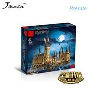 [Новости] Гарри Поттер Magic Замок Хогвартс Совместимость Legoingly Гарри Поттер 71043 Строительные блоки Кирпич детские рождественские игрушки