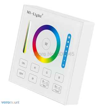 Mi.Light B0 Smart Panel Remote RGB+CCT RGB RGBW Controller with Timing Function for FUT043 FUT044 FUT045 Milight Controllers