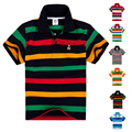 High Quality Breathable Kids Boys Polo Shirt Children Clothes Short Sleeve Cotton Summer Brand Girls Tops Tees