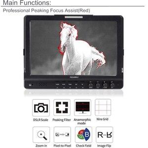 """Image 5 - Feel world FW1018V1 10.1 """"IPS 4K HDMI كاميرا جهاز المراقبة الميدانية كامل HD 1920x1200 شاشات كريستال بلورية ل DSLR فيديو فيلم اطلاق النار ستابليزر"""