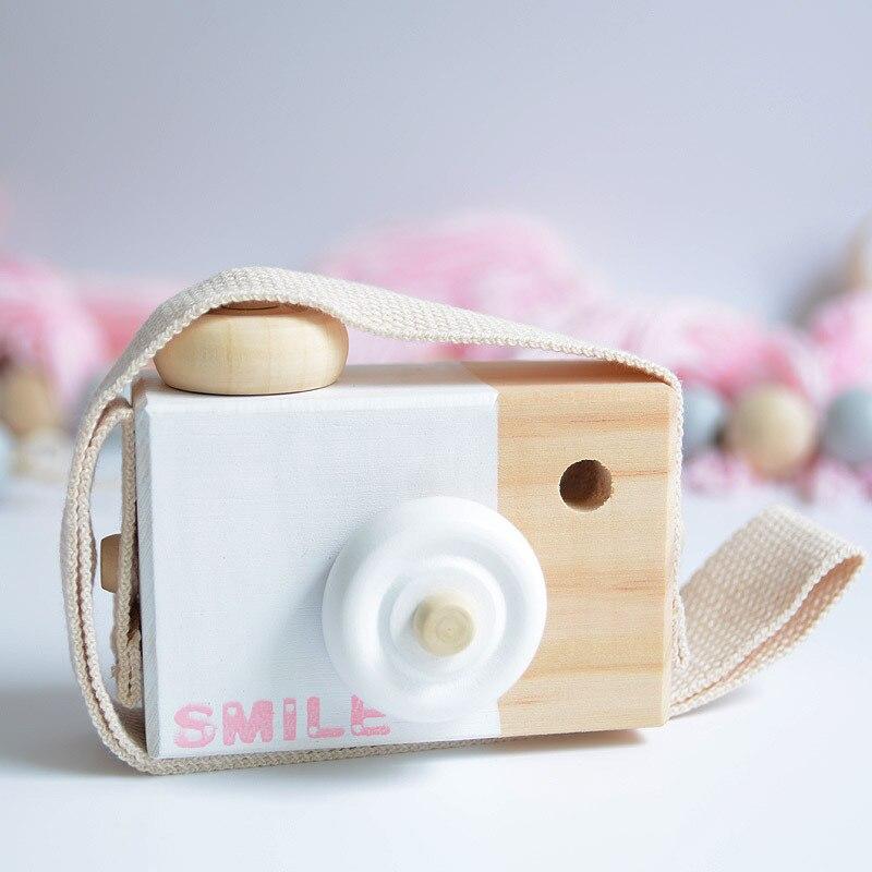 lindo madera Cmara juguetes seguro juguete para beb nios moda ropa accesorio juguetes cumpleaos navidad regalo de vacaciones