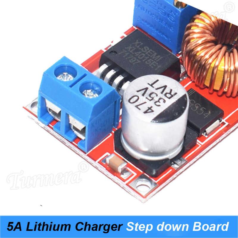 XL4015 5A постоянного тока в DC CC CV литиевая батарея Шаг вниз зарядки светодио дный LED Мощность конвертер литиевая зарядное устройство Модуль Turmera Оригинал JY