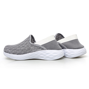 Image 3 - STQ 2020 Autumn Women Sneakers Shoes Breathable Mesh Tenis Feminino Slip On Ladies Casual Flats Sneakers Shoes Woman 1869