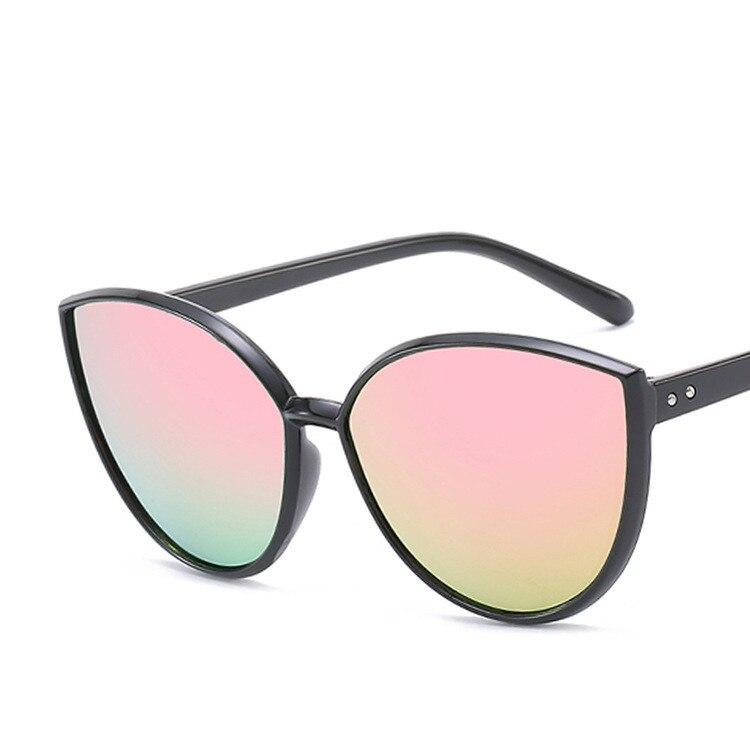 COOYOUNG Fashion Cat Eye Sunglasses Women Brand Designer Vintage Trend Ladies Light Plastic Frame Colorful Sun Glasses UV400