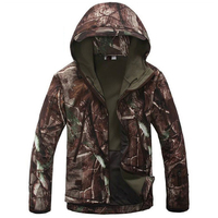 Tactical Jacket Men Lurker Shark Skin Softshell V4 Military Jackets Mens Waterproof Thick Warm Camouflage Coat
