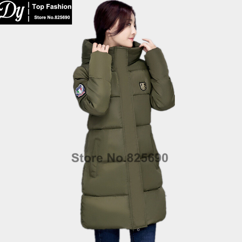 New WarmingWinter Jackets For Women Fashion Down Cotton Parka Women's Winter Jacket Coat Female Water High Collar Hooded Jacket new cotton padded winter jackets women fashion short down parka light women s winter jacket coat short female water proof jacket