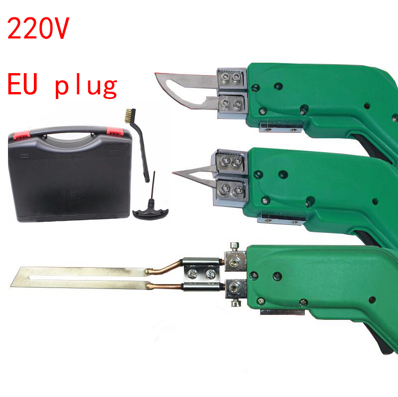 Free Shipping 220V Hand Hold Heating Knife Cutter Hot Cutter Fabric Foam Rope Electric Cutting Tools