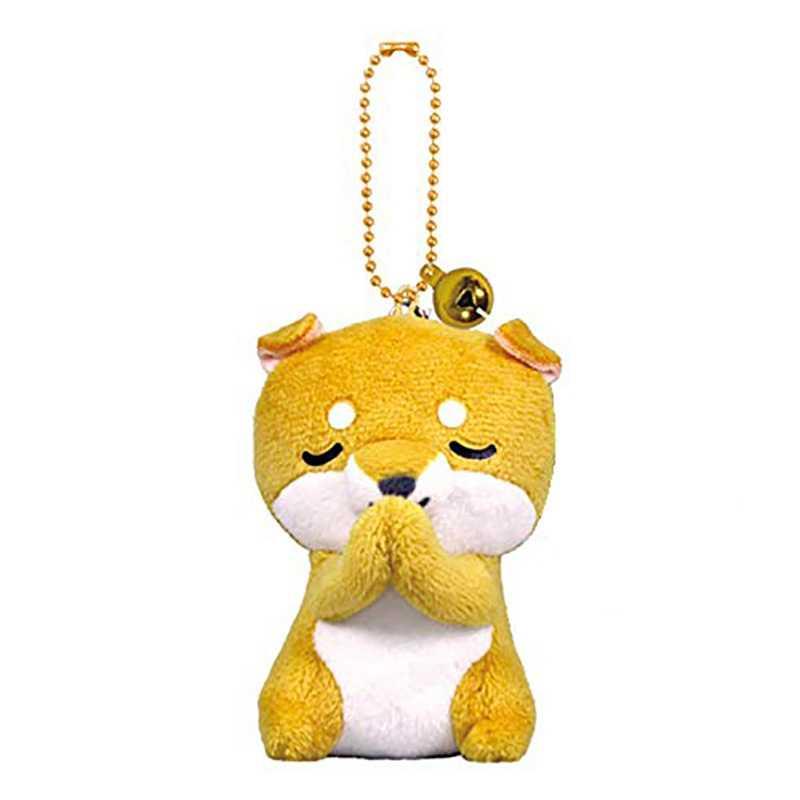 Gantungan Kunci Tas Pesona Pesona Boneka Mainan Gantungan Kunci Lucu Mini Kodok Panda Penguin Lumba-lumba Akita Anjing Mewah Boneka Mainan- TOY161