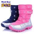 Frete grátis crianças botas moda infantil botas de neve do inverno do bebê boys & girls botas sapatos de pais e filhos