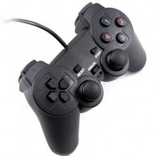 2pcs/pack USB 2.0 Black Gamepad Wired Game Controller Joystick Joypad Gamepad For PC Laptop Computer For Win7/8/10 XP/For Vista