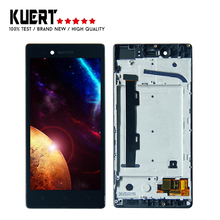 High Quality LCD For Lenovo Vibe Shot Z90 Z90a40 Z90-7 Lcd Display Digitizer Touch Screen Assembly with Frame + Free Tools free shipping new lcd touch screen with lcd digitizer assembly for 7 9 tablet pc acer iconia tab a1 810