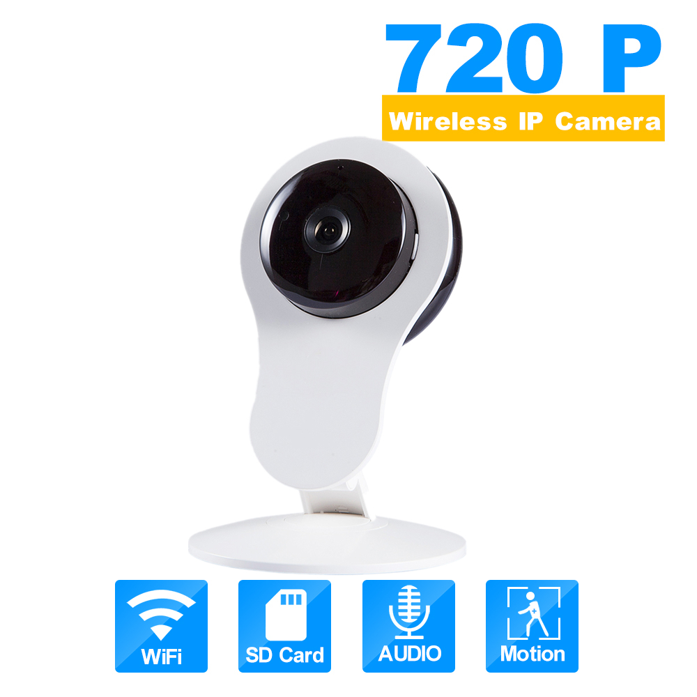In Stock Home WiFi IP Camera Night Vision Wireless 720P 110 Two-way Audio Video Monitor Smart Webcam Indoor Security Camera hisecu home wifi ip camera night vision wireless 720p 110 two way audio video monitor smart webcam indoor security camera