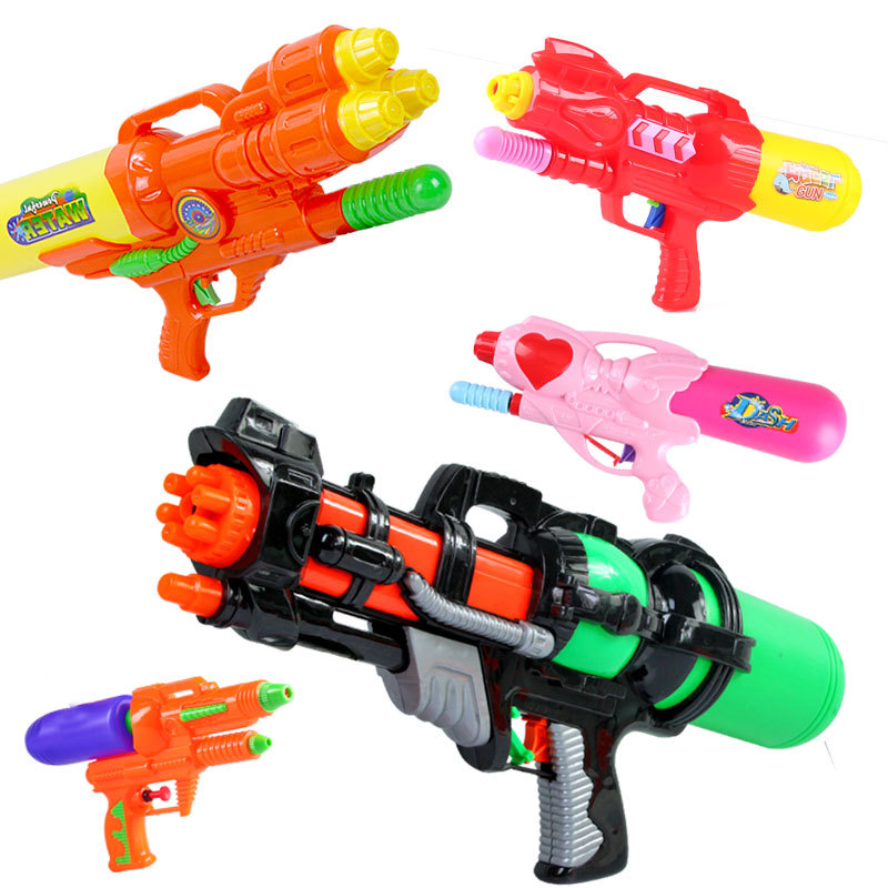 Outdoor Games Children Holiday Fashion New Blaster Water Gun Toy Kids Colorful Beach Squirt Toy Pistol SprayWater Gun Toys