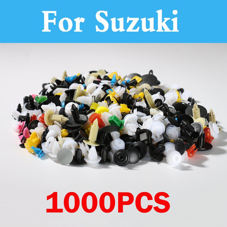 1000 pcs Mixte Accessoires De Voiture de Retenue Fixation Rivet Pour Suzuki Escudo Forenza Vitara Baleno Celerio Cervo Grand Vitara Aerio