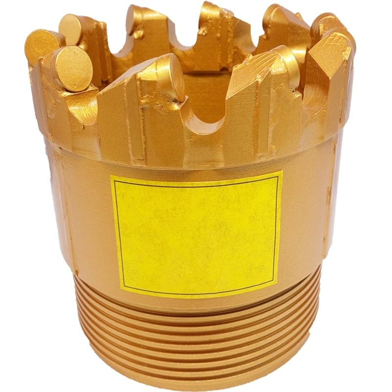Coreless Drill Bit Well Drilling PDC Drag Bit For Mining Drilling Bit Geological Exploration Coal Mining