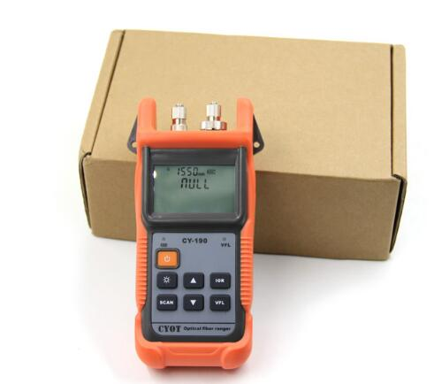 Optical Fiber Ranger MINI OTDR CY190S Visual Fault Locator fault detection and positioning instrument,ftth mini otdr