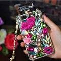 Strass cristal de diamante casos de telefone caso frasco de perfume para samsung galaxy note 7 3 4 5 s7edge s6edge s6edge mais s6 s7 s5 4