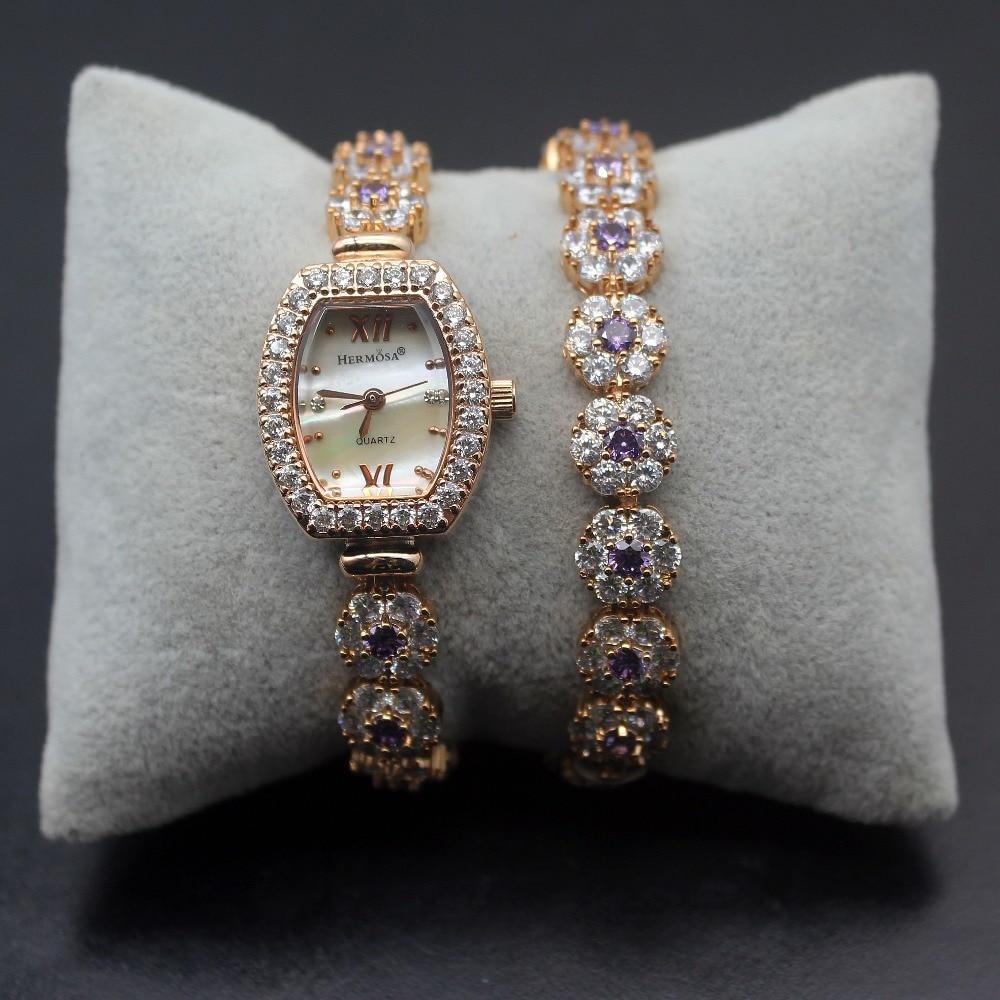 Women's Bracelet Watch Women's Luxury Wrist Watches Japanese Quartz Movement Jewelry Bracelet Watch Band H-2032 oem 2015 watchgift 1 j 60cmpj078 bracelet watch