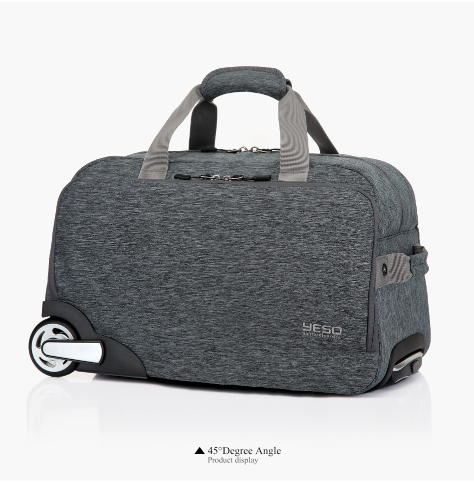 2e6231df6eac ... inch 32L Rolling Duffle Bags Waterproof Oxford Suitcase Wheels Carry On  Luggage 1Luggage 2Travel bags 3Trolley 4Travel Bag 5Hand Luggage ...