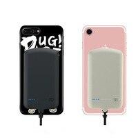 4000mAh External Battery Charger Case Power Bank For IPhone X 8 Plus 7 Plus 6S Plus