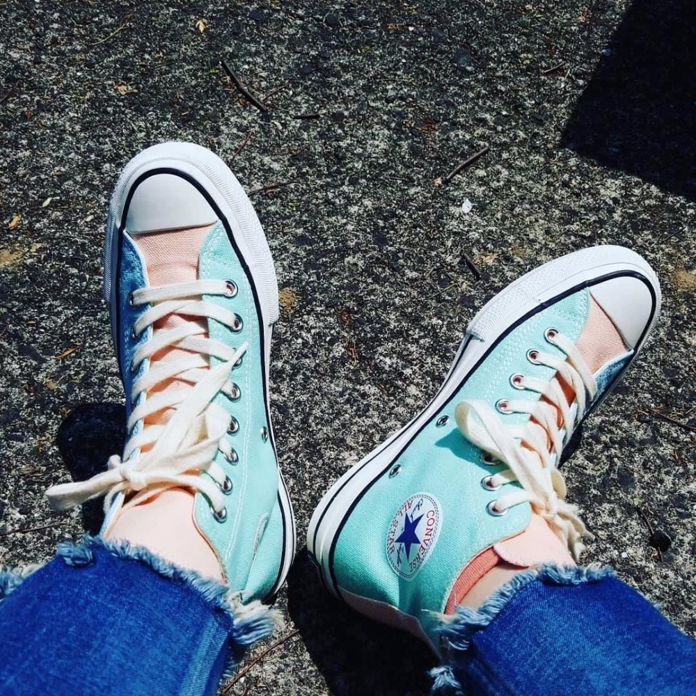Original new CONVERSE ALL STAR Men and women classic sneakers Skateboarding dragon
