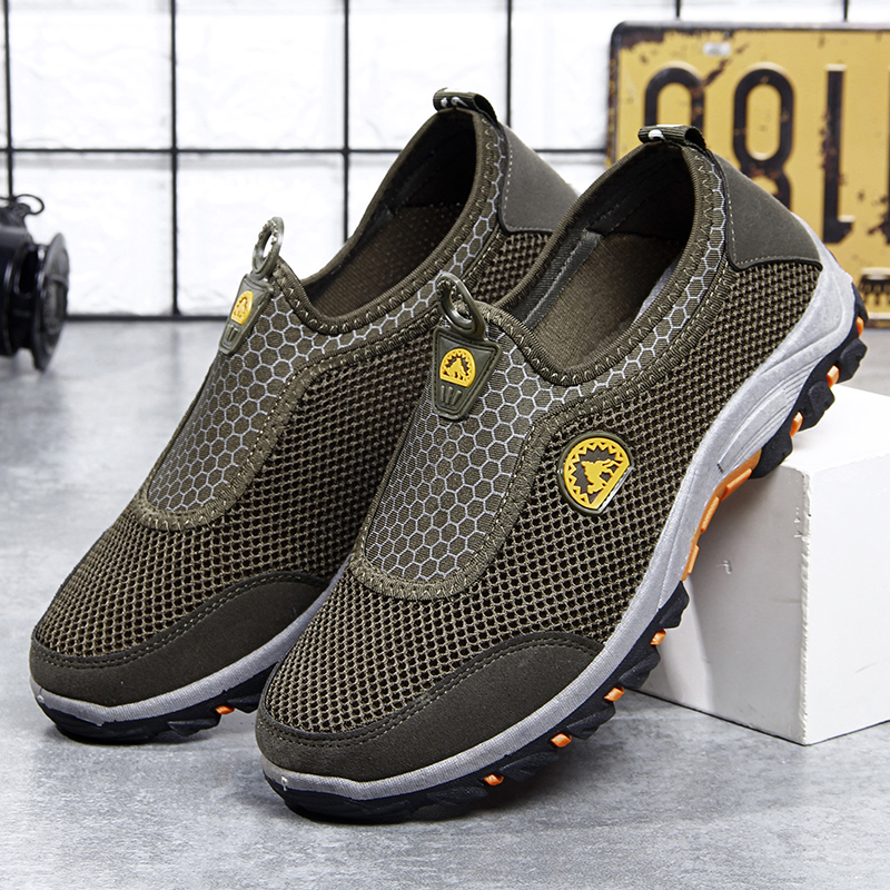 HTB1Fku7biDxK1RjSsphq6zHrpXad VESONAL 2019 Summer Slip On Mesh Sneakers Men Shoes Out door Breathable Comfortable Male Shoes Loafers Casual Walking Footwear