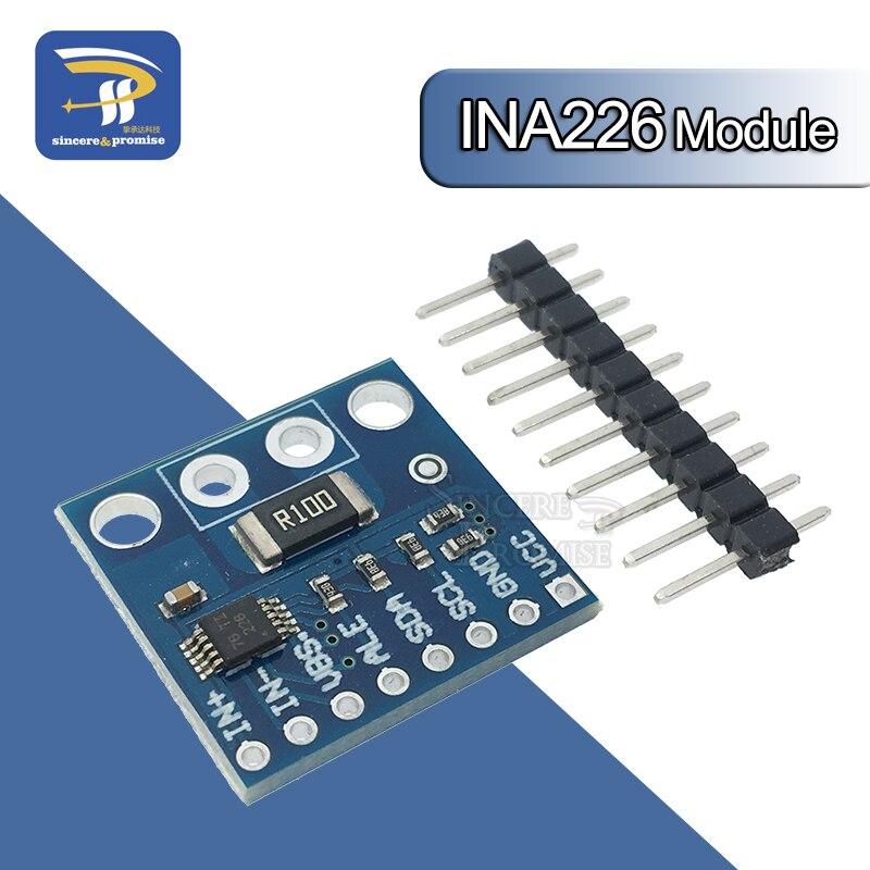 Двухнаправленный модуль датчика мониторинга тока/мощности с интерфейсом INA226 IIC I2C для Arduino