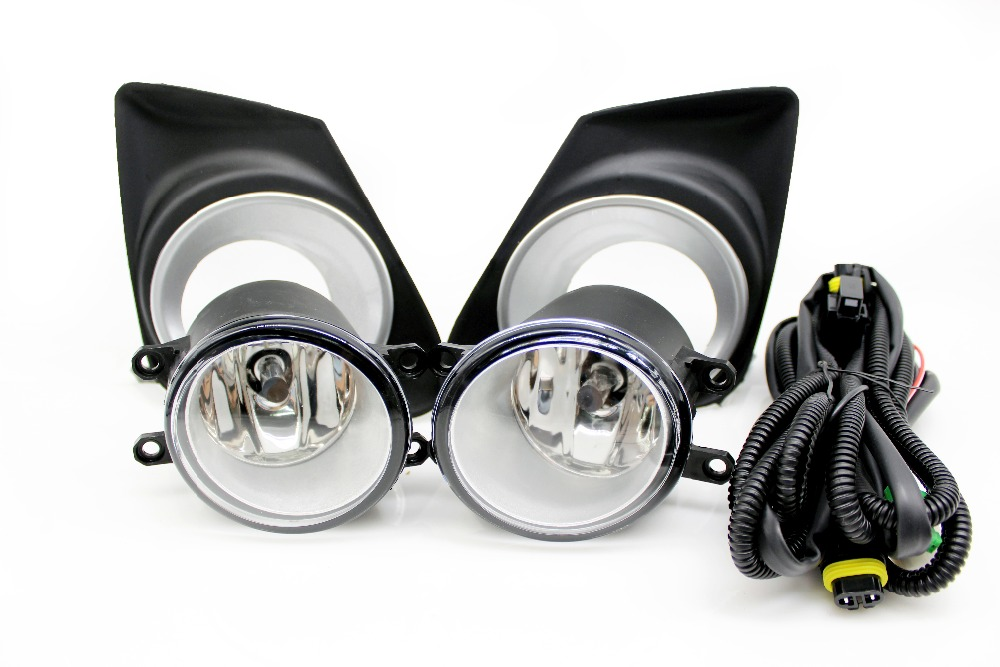 1:1 replacement Toyota Corolla fog light lamp assembly fog lights 2011 2012 2013 with wires