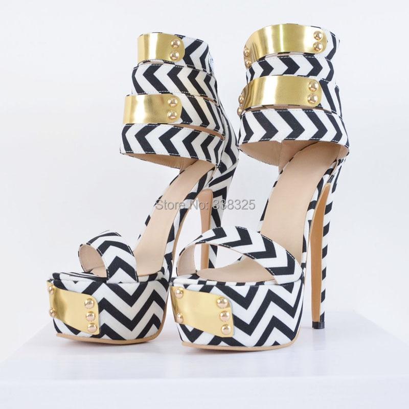 ФОТО ZKshoes 2015 new fashion women's Gladiator high heels with glitter hand make shoes big size 35--44