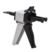 Pistolet distributeur universel de cartouche, Impression dentaire, 1:1/1:2, 50ml, en caoutchouc de silicium, 10:1