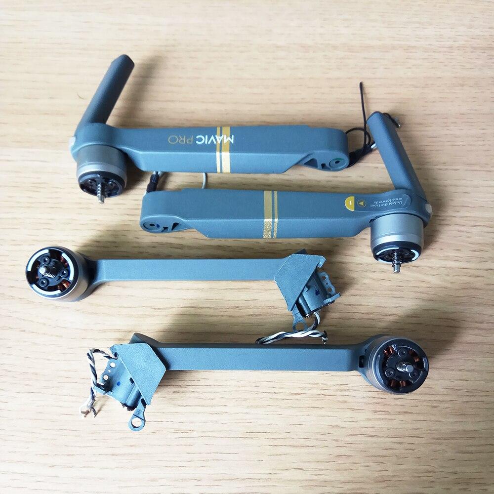 Original USED Mavic Pro Arm Motor Repair Replacement DJI Mavic Pro Motor Arm With Cable Spare Parts