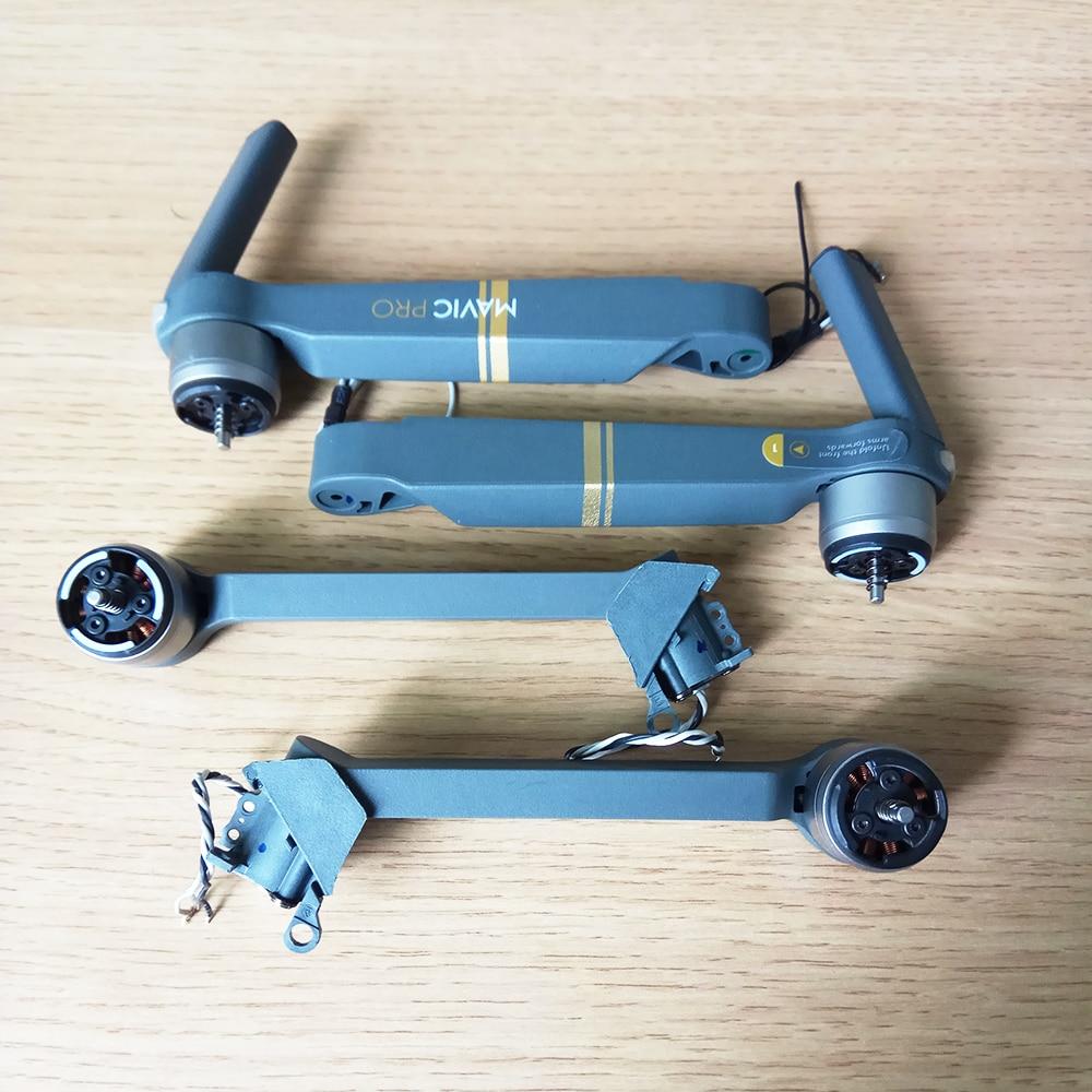 Original usado Mavic Pro brazo Motor reparación reemplazo DJI Mavic Pro Motor brazo con Cable piezas de repuesto