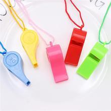 12 шт творческие детские свисток для вечеринок Хлопушка стаканчики для вечеринки, подарков свистки с карабином новые стильные тесёмки оптом для вечерние поднимают настроение разные цвета