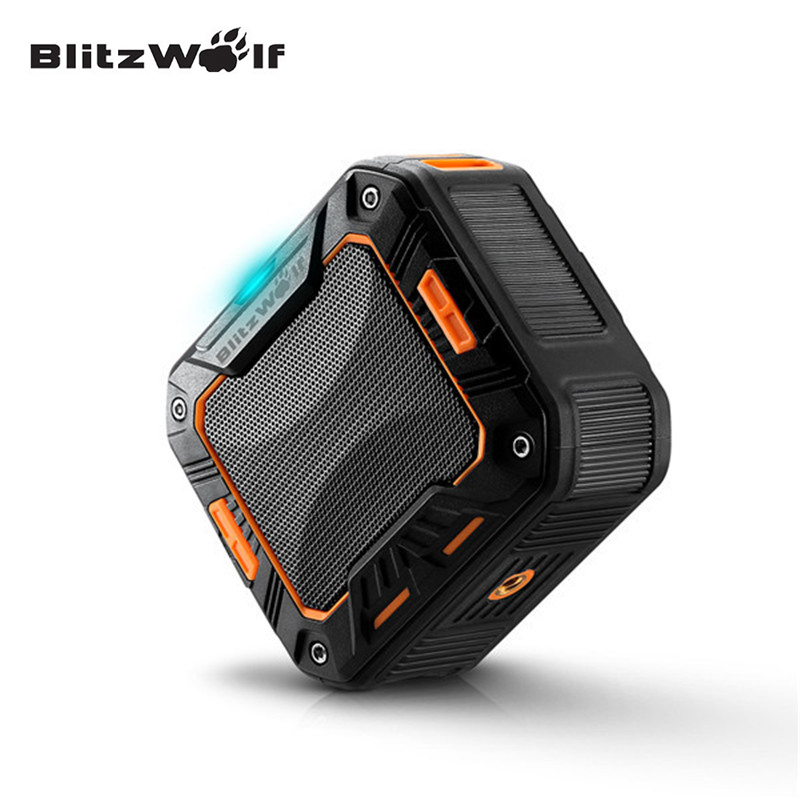 BlitzWolf BW-F2 IP65 2000mAh Water-resistant Outdoor Hand-free Wireless Bluetooth Speaker For Smartphone
