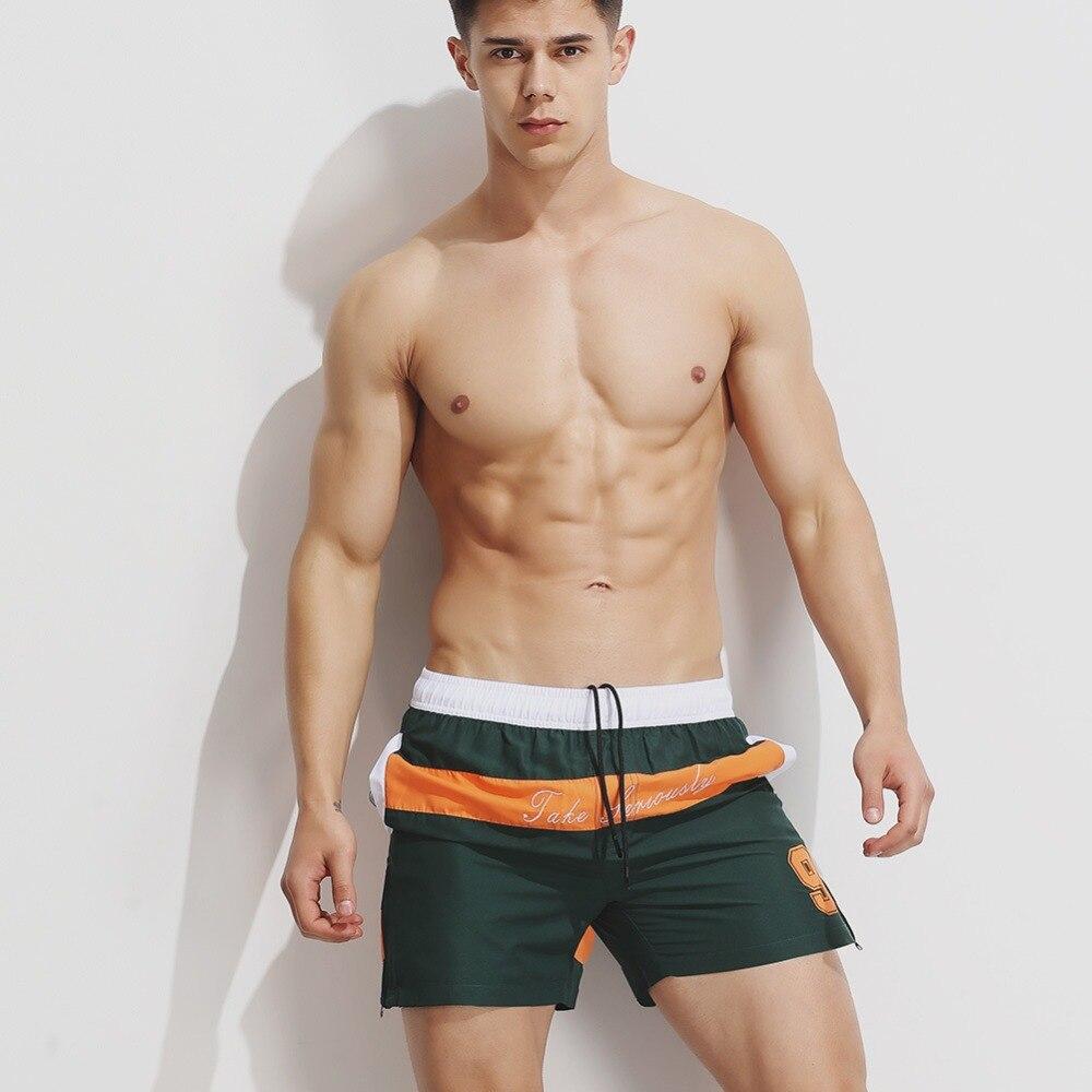 Superbody Men s Shorts Summer print Beach Fashion loose casual shorts