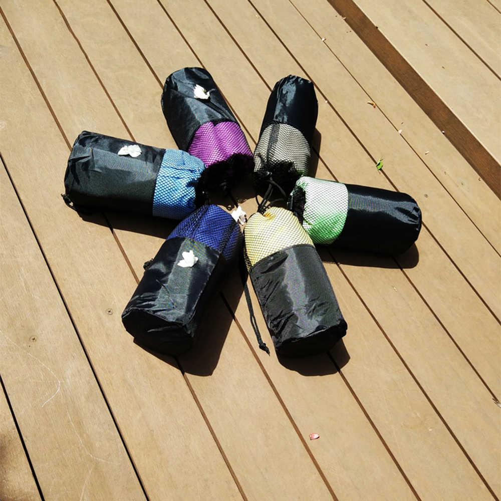 Zipsoft Esportes toalha de Praia toalha De Microfibra Tecido Mesh Bag-secagem Rápida Viagem Cobertor Piscina Camping Esteira da Ioga de presente de Natal