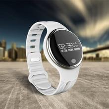 E07สมาร์ทสายรัดข้อมือบลูทูธ4.0 S Martbandสมาร์ทวงนอนการตรวจสอบสมาร์ทสร้อยข้อมือที่คล้ายกันสมาร์ทนาฬิการอบs mart w atch