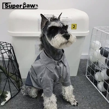 Fashion Pet Dog PVC Pocket Shirt Summer Clothes For Small Medium Puppy Dogs Clothing Coat Schnauzer Vest French Bulldog GMC01