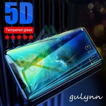 5D Screen Protector For Huawei Honor 7X 8X 9 8 10 Lite Tempered Glass For Huawei Mate 20 10 X Lite Pro Film Protective Glass 9H(China)