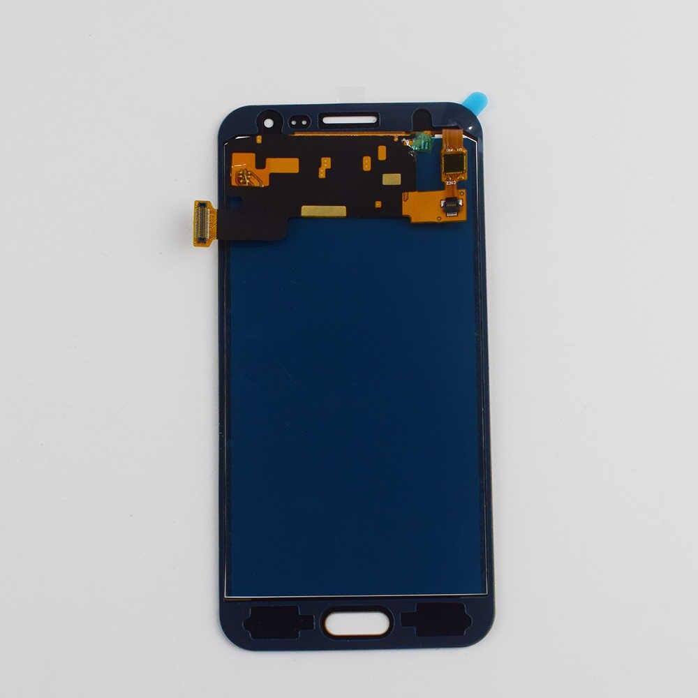 لسامسونج غالاكسي J3 2016 LCD شاشة SM-J320 J320A J320F J320H J320M J320FN شاشة الكريستال السائل مجموعة المحولات الرقمية لشاشة تعمل بلمس إطار
