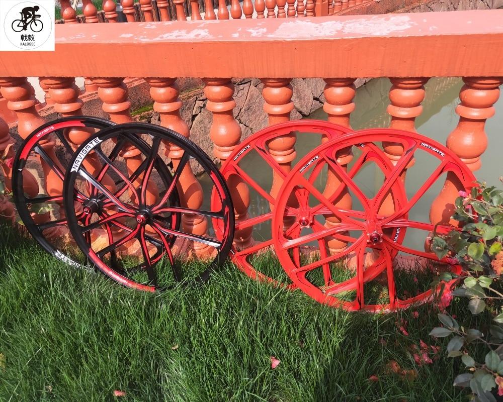 Kalosse integrated wheels 4 bearing disc wheels 29er alloy MTB bicycle wheel for 7 8 9
