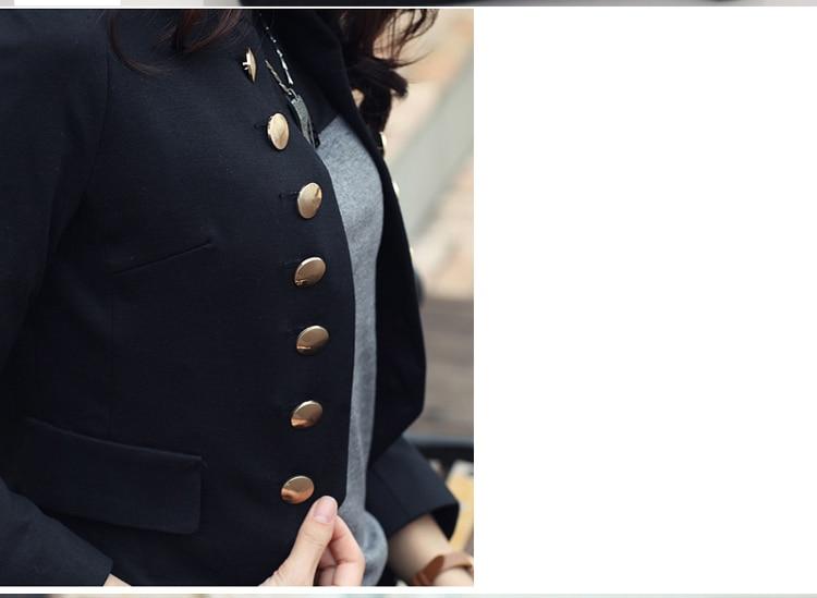 Double Breasted Jacket Women 2019 Spring OL Short Blazer